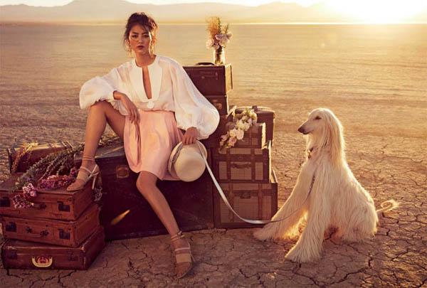 """Slika 68 """"Vogue Australia"""": Putovanje sa cirkusom"""