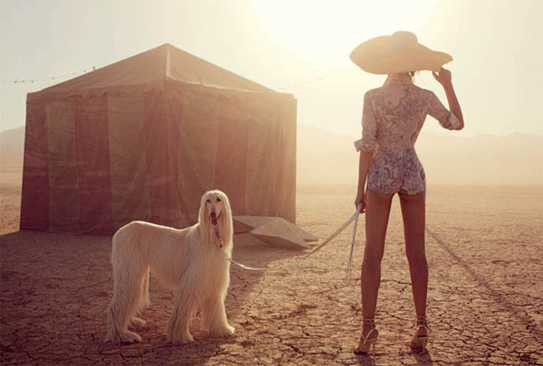 """Slika 72 """"Vogue Australia"""": Putovanje sa cirkusom"""