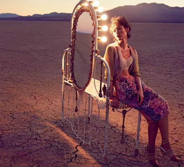 """Slika 85 """"Vogue Australia"""": Putovanje sa cirkusom"""