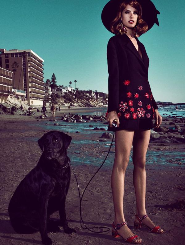 """Slika 92 """"Vogue Brasil"""": Retro Kalifornija"""