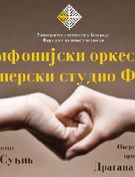 Koncert simfonijskog orkestra i operskog studija Fakulteta muzičke umetnosti