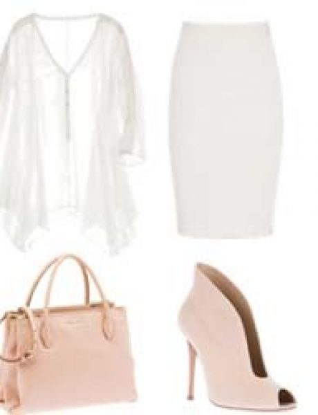 Look of the Day: Bela i roze