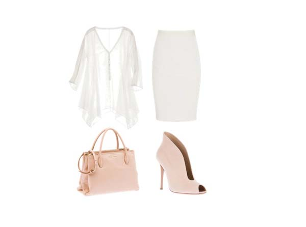 look of the day1 Look of the Day: Bela i roze