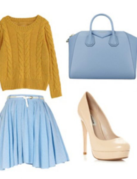 Look of the Day: Plava nedelja