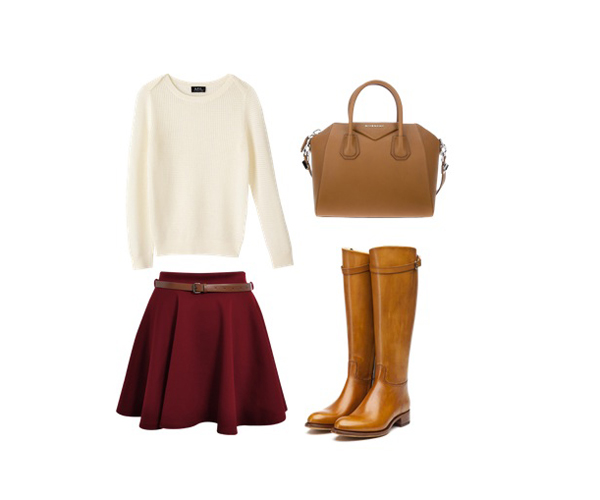 look of the day2 Look of the Day: Braon aksesoari