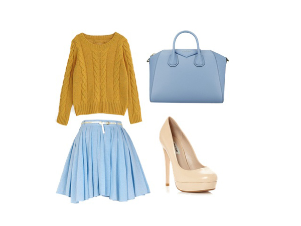 look of the day5 Look of the Day: Plava nedelja
