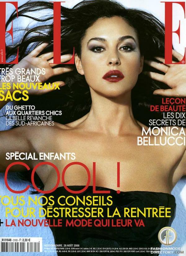 monika beluci na naslovnici elle magazina Moda na naslovnici: Monica Bellucci, žena za sva vremena