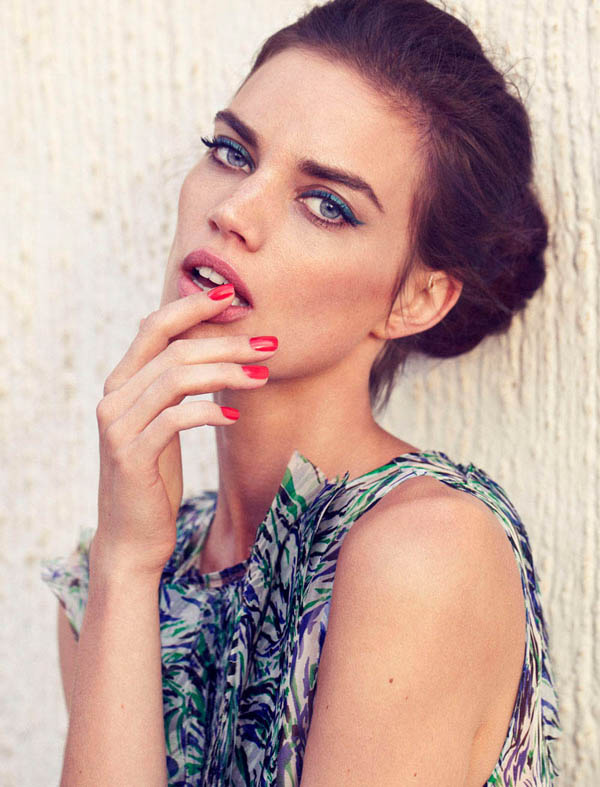 "rianne ten haken elle spain ""Elle Spain"": Retro glamur"