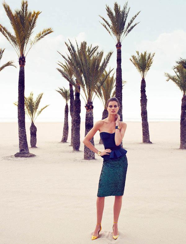 "rianne ten haken elle spain3 ""Elle Spain"": Retro glamur"