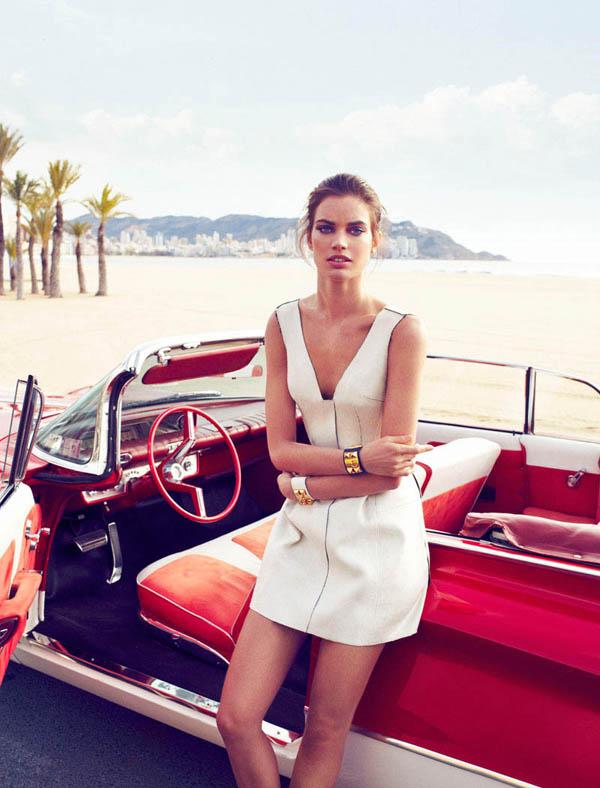"rianne ten haken elle spain5 ""Elle Spain"": Retro glamur"