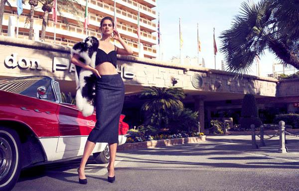 "rianne ten haken elle spain7 ""Elle Spain"": Retro glamur"