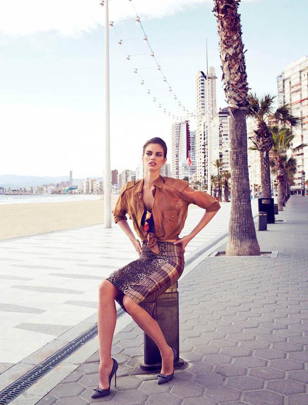 "rianne ten haken elle spain8 ""Elle Spain"": Retro glamur"