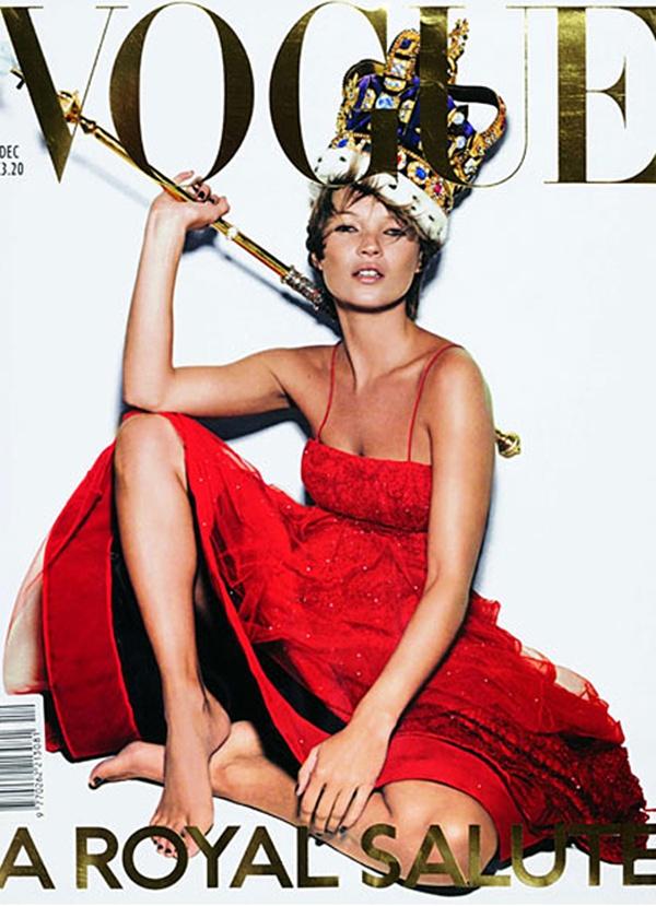 slika 114 Moda na naslovnici: Kraljevski pozdrav za Kate Moss