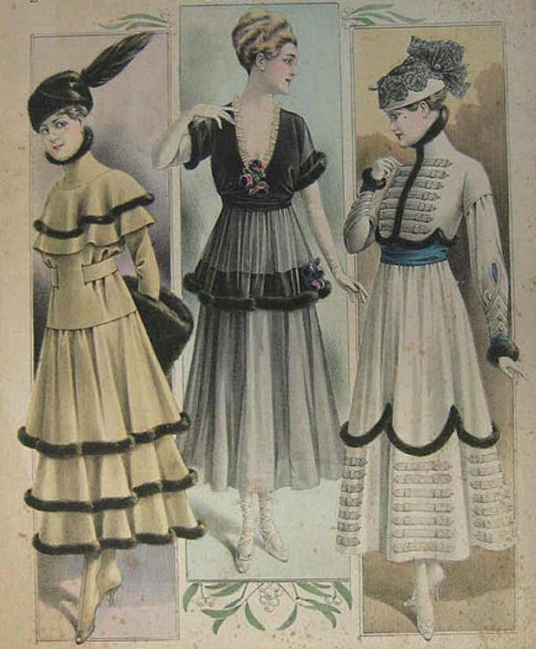slika 117 Istorija mode: 1910 1920.