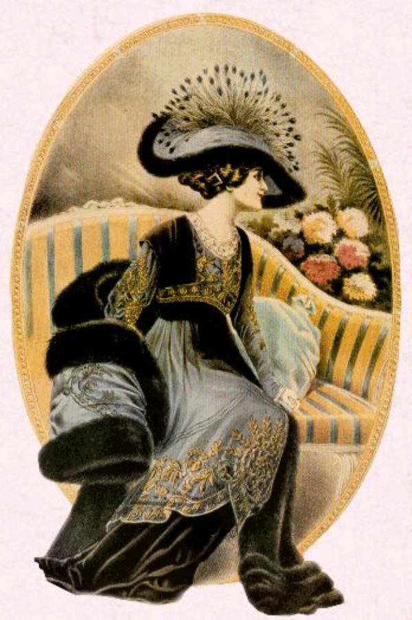 slika 314 Istorija mode: 1910 1920.