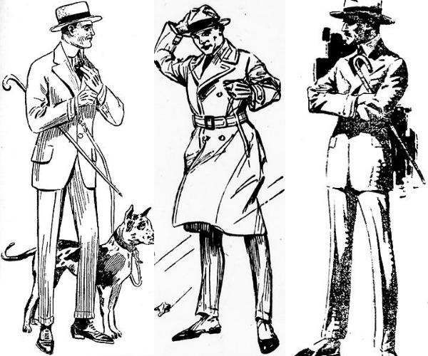 slika 49 Istorija mode: 1910 1920.