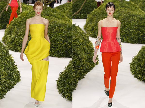 slika 52 Proleće i leto na modnim pistama: Dior