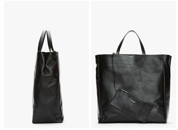 slika 2 Modni zalogaj: Nova torba Saint Laurent od kože i sa dva lica