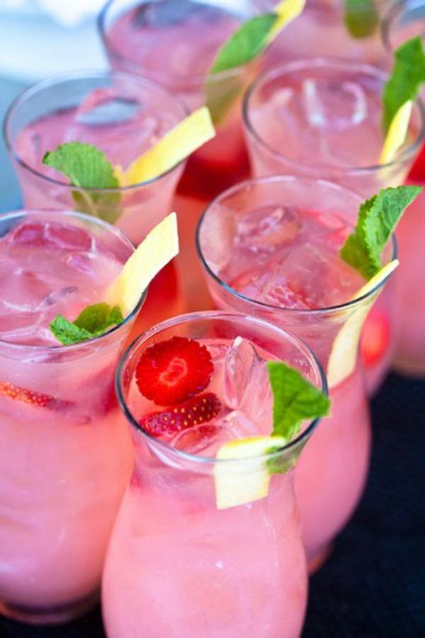strawberry sparkler Ukusne poslastice: Brzi vitaminski napitak