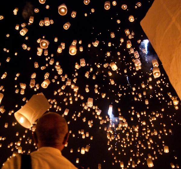yi peng festival Najbolje fotografije, iliti svaki trud se isplati