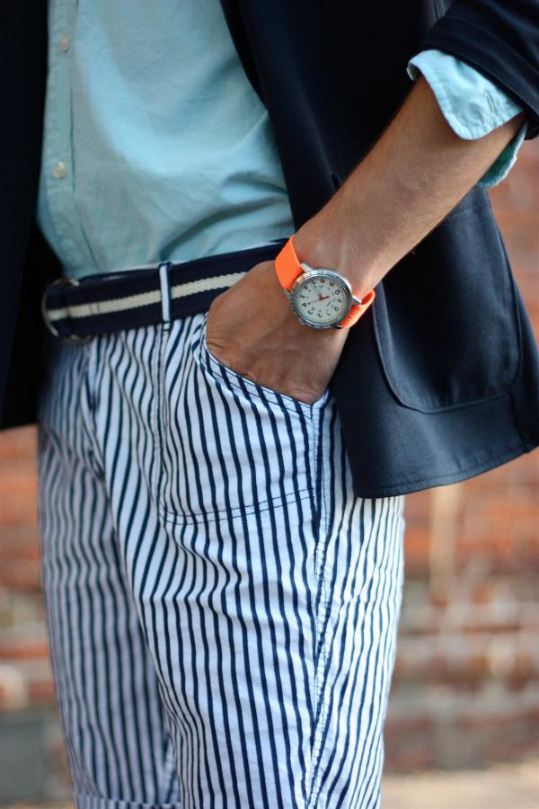 Šorts  Muška moda: Pruge i prugice