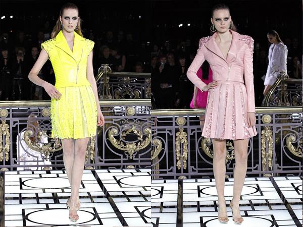žuta haljina i pastel roze Slika 4 Proleće i leto na modnim pistama: Versace