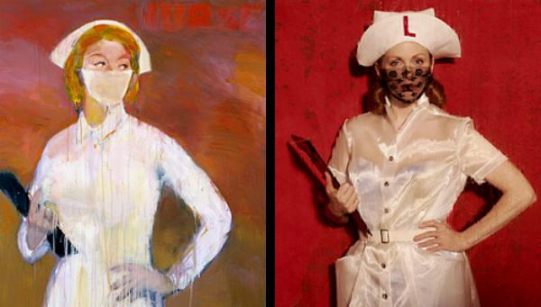 """""""Luda medicinska sestra br.3"""" od Ričarda Princa Slike pretočene u fotografije"""