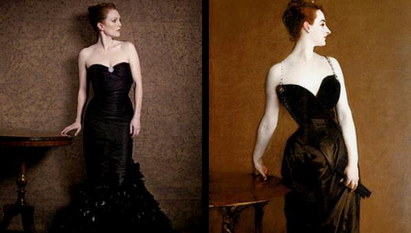 """""""Portret madam X"""" od Džona Singera Sardženta Slike pretočene u fotografije"""