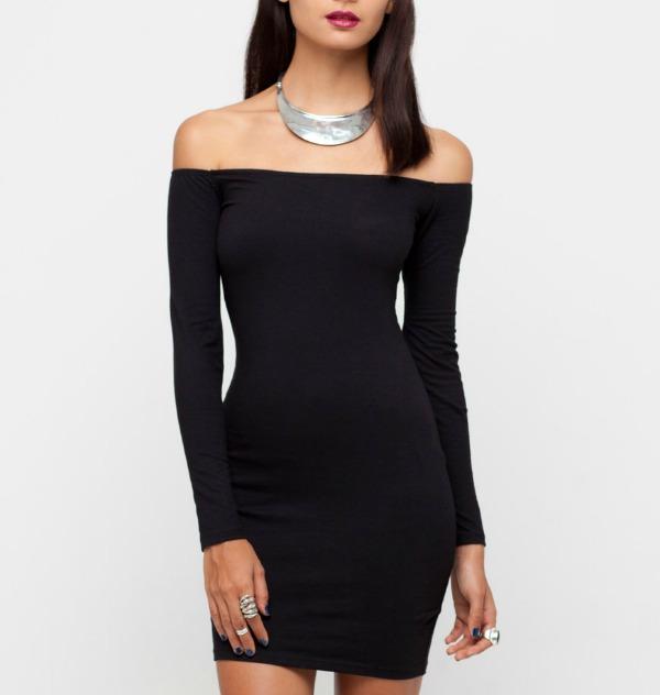 10 dugi rukavi Najlepše crne haljine