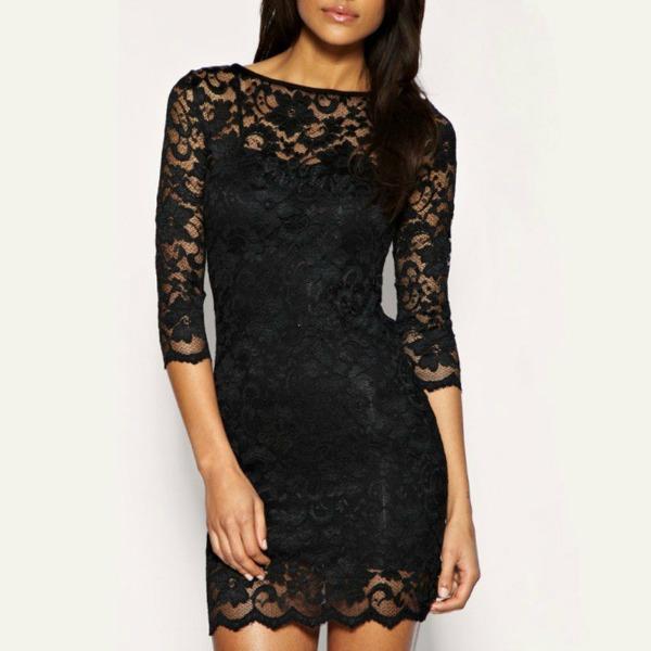 2 cipka Najlepše crne haljine