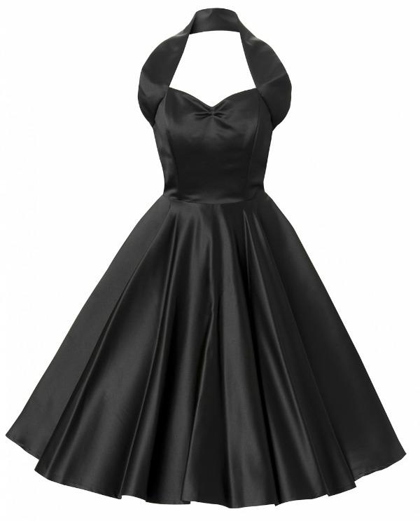 7 retro Najlepše crne haljine