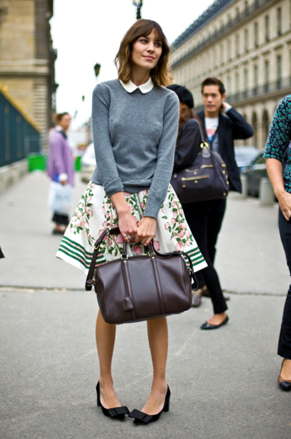 Aleksa Čang 1 Street Style: Alexa Chung