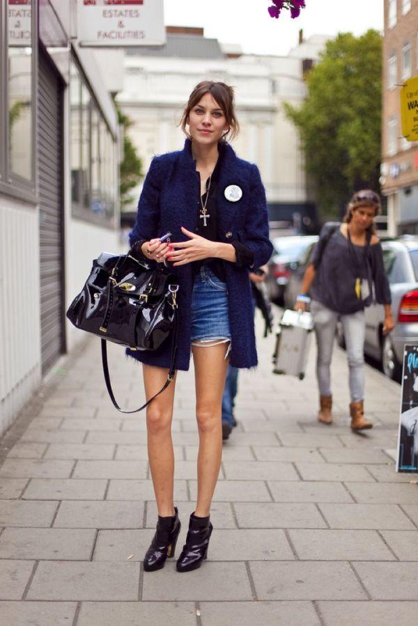 Aleksa Čang 2 Street Style: Alexa Chung