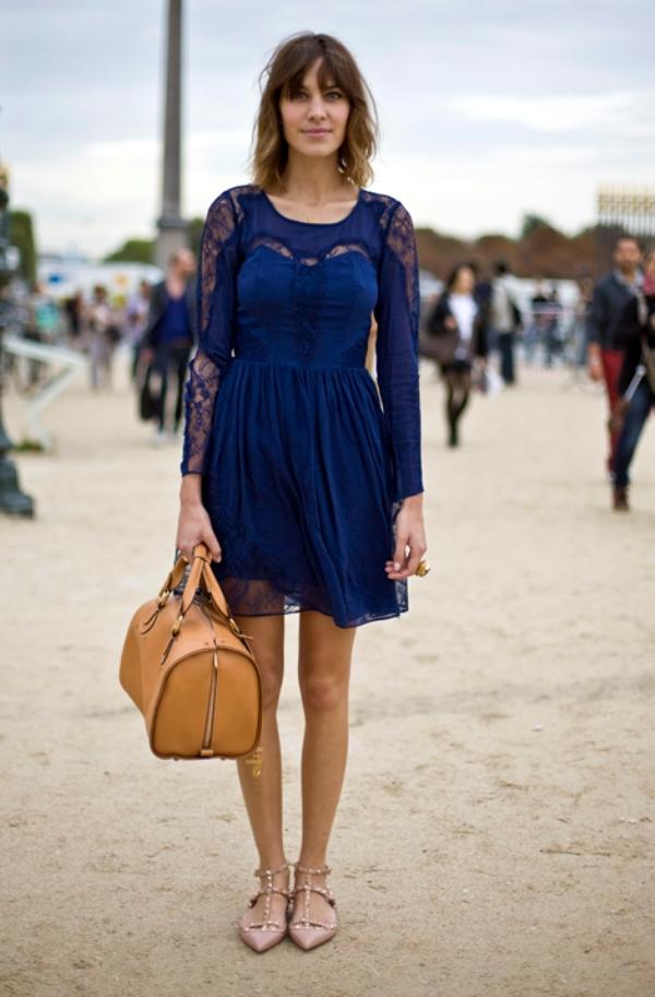 Aleksa Čang 3 Street Style: Alexa Chung