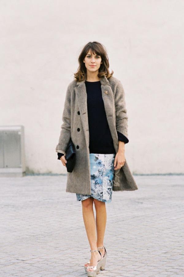 Aleksa Čang 4 Street Style: Alexa Chung
