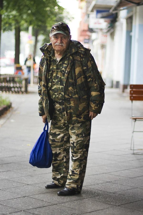 Ali u vojničkom 6 Modne kombinacije modernog dekice