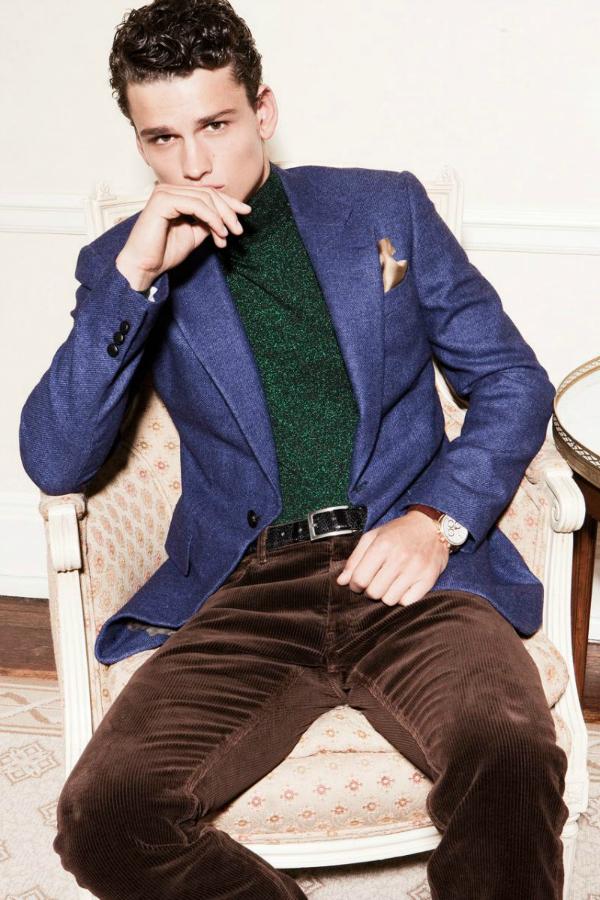 Braon pantalone Muška moda: Sve nijanse plave