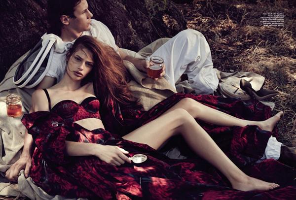 "CassiVanDenDungenVogueAustralia10 April2013 ""Vogue Australia"": Slatke stvari"