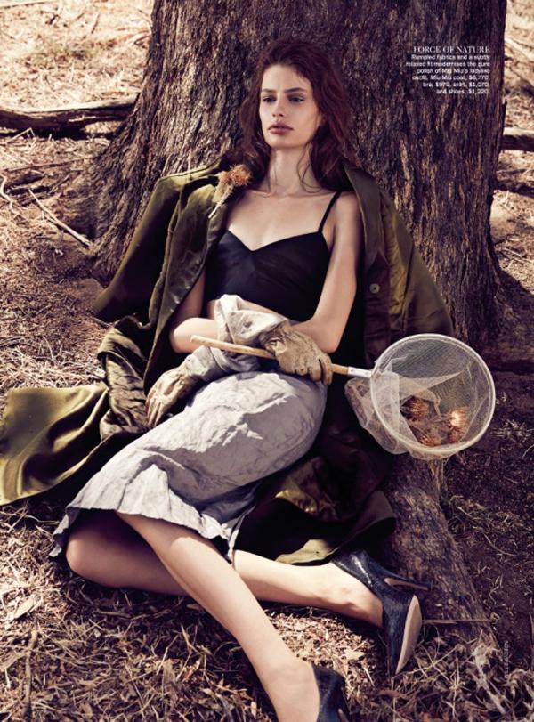 "CassiVanDenDungenVogueAustralia3 April2013 ""Vogue Australia"": Slatke stvari"