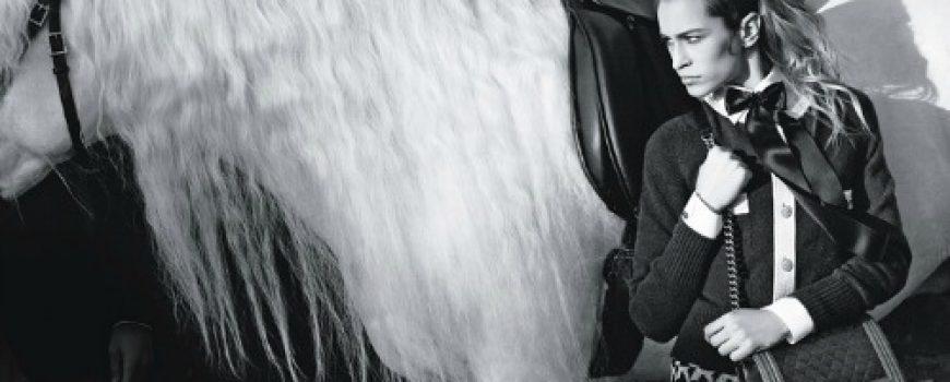Chanel Boy Handbags: Alice Dellal i Karl Lagerfeld su tim
