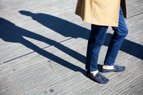 Cipele Muška moda: Sve nijanse plave