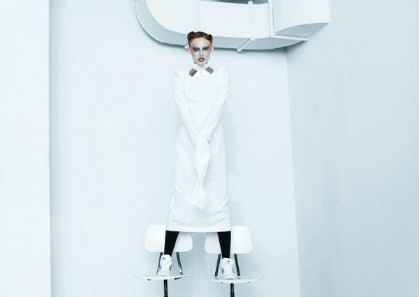 Collar ogrlice su u trendu Yuliya Babich: Modna ludnica