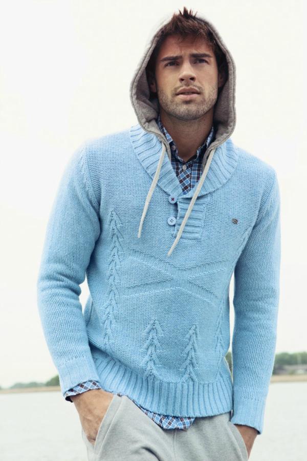 D¾emper i kapuljaèa Muška moda: Sve nijanse plave