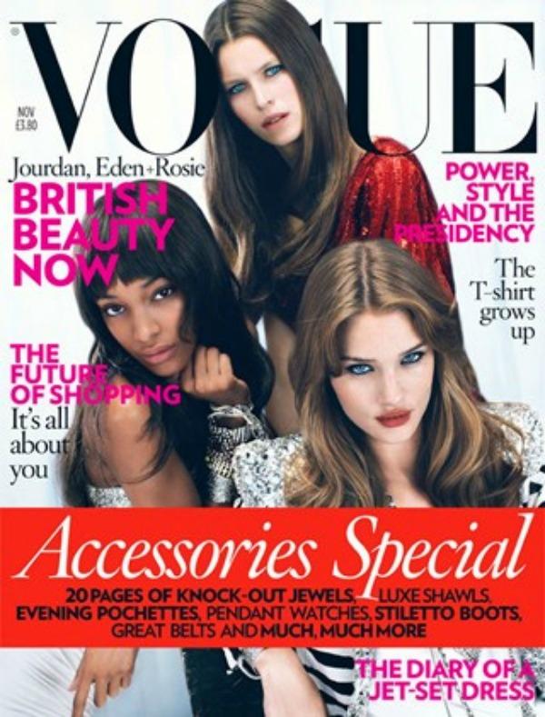 "Džordan Iden i Rouzi na naslovnici Voga ""Vogue"": Lica sa naslovnica"