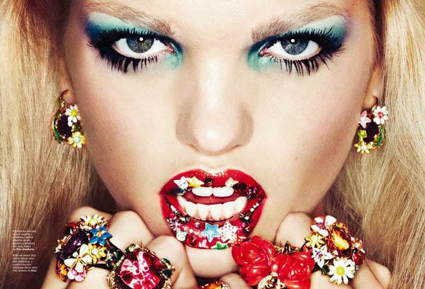"""DaphneGroeneveldTxemaYeste13 """"Harper's Bazaar Spain"""": Ljubi me brzo"""