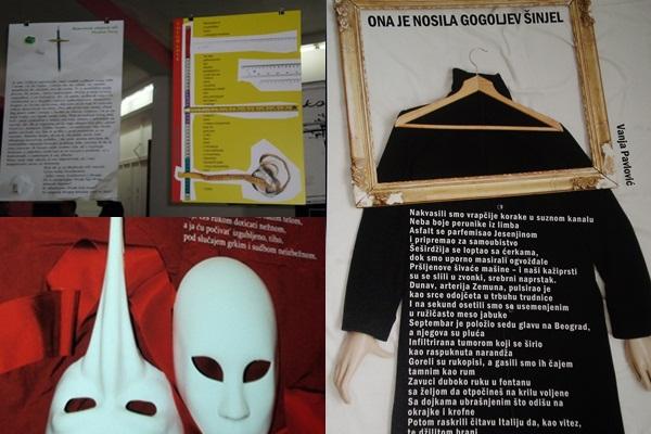 "Dizajnirani radovi Regionalni festival ""Reč u prostoru"""