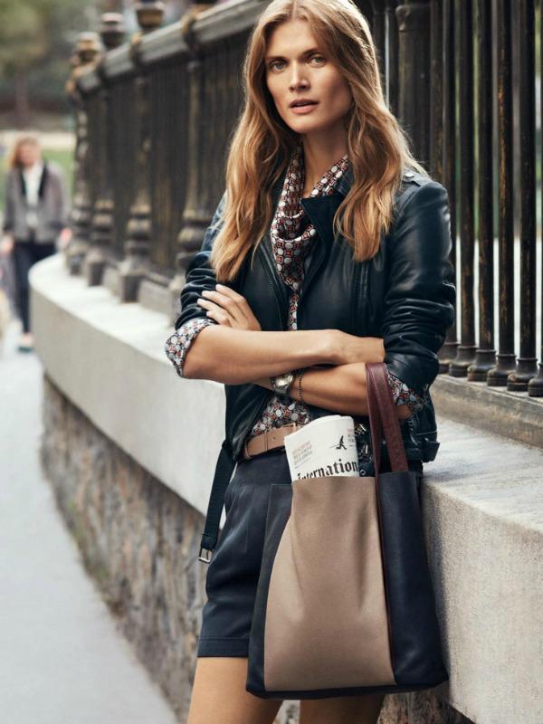 Efektna kombinacija sa koznom jaknom Marc O'Polo: Džentlmen i dama
