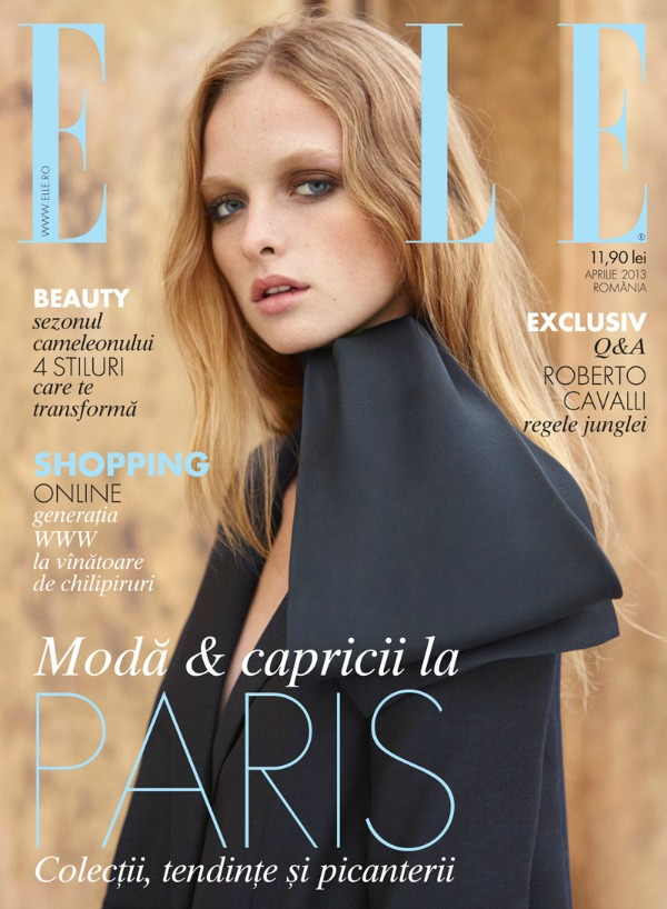 "Eva Dauni ""Elle Romania"": Romantika i nežnost u ""gradu svetlosti"""