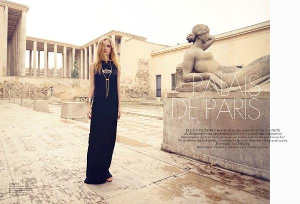 "Eva Dauni9 ""Elle Romania"": Romantika i nežnost u ""gradu svetlosti"""