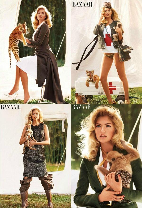 F12 Modni zalogaj: Kate pozira za Harpers Bazaar